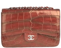 CHANEL Handbag Red Flap A456352